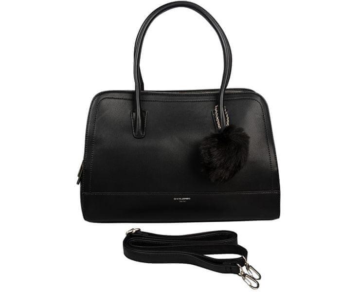 David Jones Dámská kabelka Black CM3562