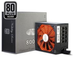 Inter-tech modularni napajalnik CobaNitrox Nobility CN-800 NS 800W 80Plus Silver