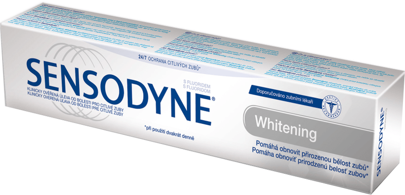 Sensodyne Zubní pasta Whitening 75 ml