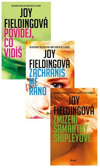 Fieldingová Joy: Komplet Povídej, co vidíš + Zachráníš mě ráno + Zmizení Samanthy Shipleyové