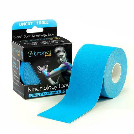 BronVit  Sport Kinesiology tape Uncut 5m x 5cm - modrá
