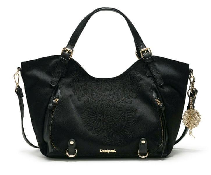 Desigual černá kabelka Emmi Rotterdam