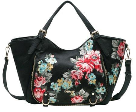 Desigual ženska ročna torbica črna Terranova Rotterdam