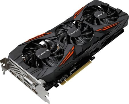 Gigabyte grafična kartica GeForce GTX 1070 Ti Gaming 8G, 8GB