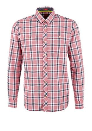 s.Oliver pánská košile L červená