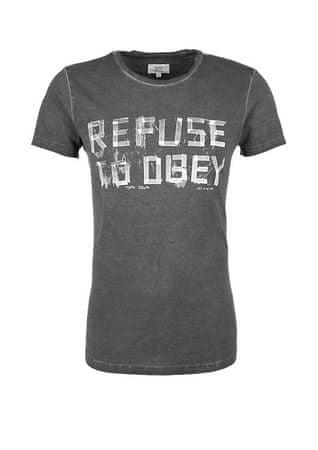 859aa604d55 s.Oliver pánské tričko M šedá