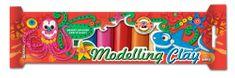 Modelína KIN 10 barev ve fólii - 200 g