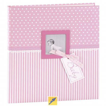 Goldbuch foto album Sweethart, roza 30x31 cm, 60 strani