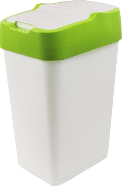 Heidrun Odpadkový koš Push Up 18 l, zelená
