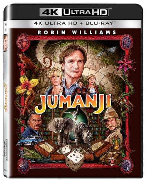 Jumanji (2 disky) - Blu-ray + 4K ULTRA HD