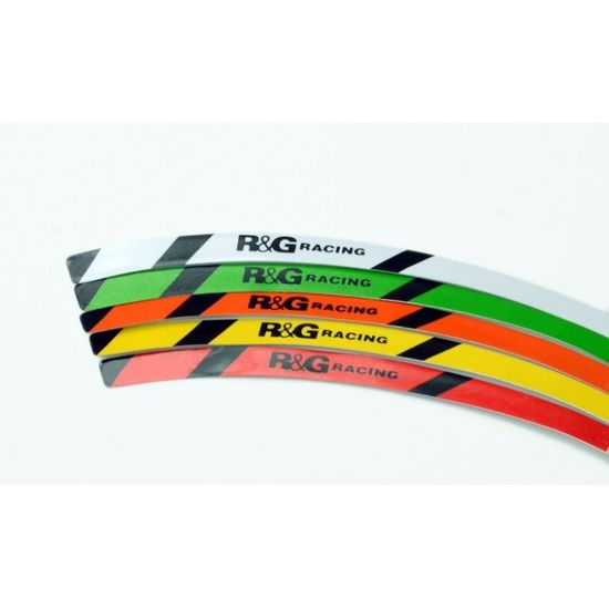 R&G racing proužky na ráfky RG-Racing, zelená