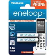 Panasonic AAA 2ks 750 mAh ENELOOP White (4MCCE/2BE)