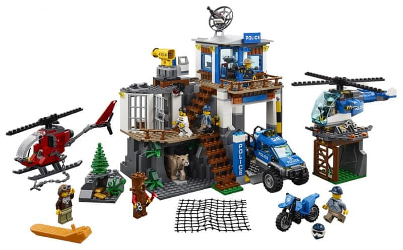 LEGO® City Police 60174 Horská policejní stanice