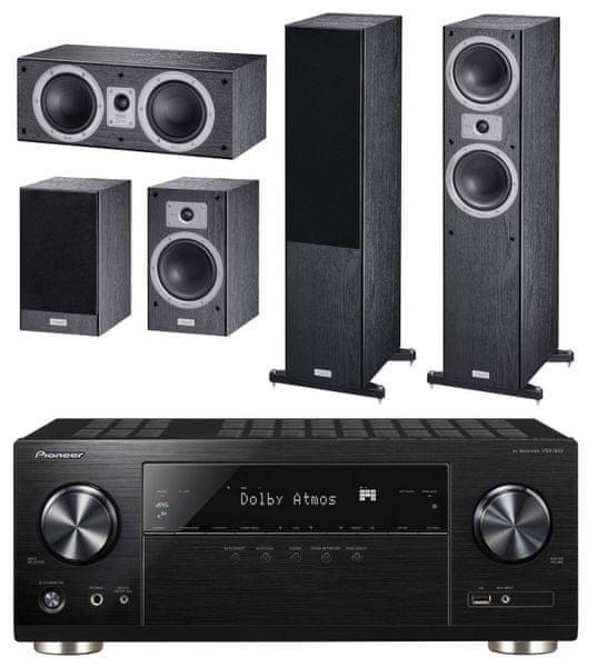 Pioneer VSX-932-B, černá + Magnat Tempus set 55, černá
