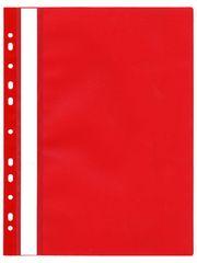 Karton P+P Rychlovazač plastový s euroděrováním červený