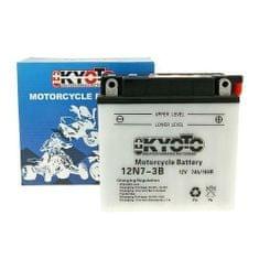 Baterie KYOTO 12V 7Ah 12N7-3B (dodáváno bez kyselinové náplně)