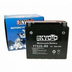 Baterie KYOTO 12V 18Ah  YTX20-BS (dodáváno s kyselinovou náplní)
