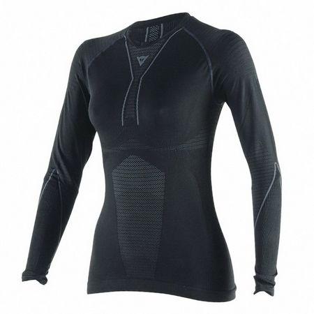 Dainese dámske termoaktívna tričko (letné)  D-CORE DRY TEE LS LADY čierna/antarcit