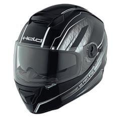 Held integrální motocyklová přilba  KATANA černá/bílá