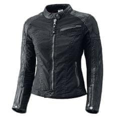 Held dámska motocyklová bunda  STREET HAWK veľkosť M čierna, denim + Kevlar