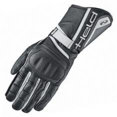 Held sportovní moto rukavice  AKIRA EVO černá/bílá, klokaní kůže