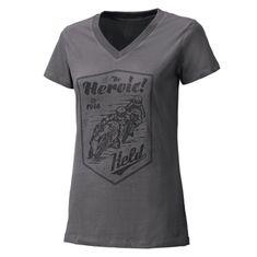 Held dámské triko  BE HEROIC šedá