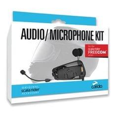Cardo cardo audio + mikrofón kit FREECOM 1/2/4 pre integrálne i otvorené prilby