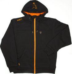 Fox Mikina Heavy Lined Hoody Black Orange