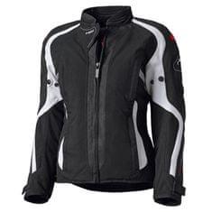 Held dámska moto bunda  TOSHI čierna/biela (vodeodolná)