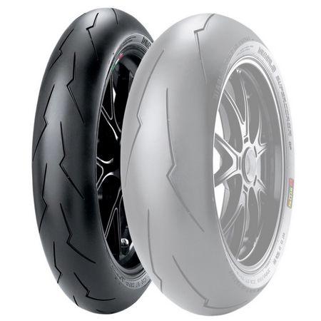 Pirelli 120/70 ZR 17 M/C TL (58W) Diablo Supercorsa SP V2 predný
