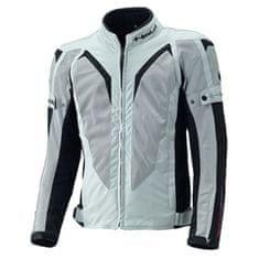 Held pánska športová letná moto bunda  SONIC šedá/čierna