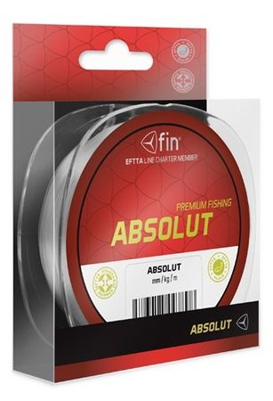 FIN Vlasec Absolut Čirá 5000 m 0,12 mm, 3,1 lb