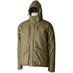 Trakker Vodělodolná zimní bunda Elements Jacket Zelená
