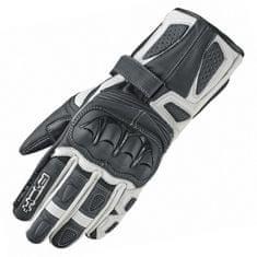 Held dámské sportovní moto rukavice  MYRA černá/bílá, kozí/klokaní kůže