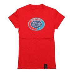 Dainese dámské triko s krátkým rukávem  MOTO 72 LADY červená
