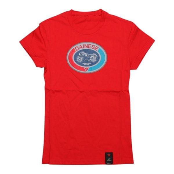 Dainese dámské triko MOTO 72 LADY vel.M červená