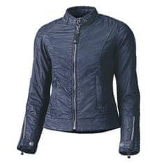 Held dámska moto bunda  FALCON modrá, voskovaná bavlna (vodeodolná)