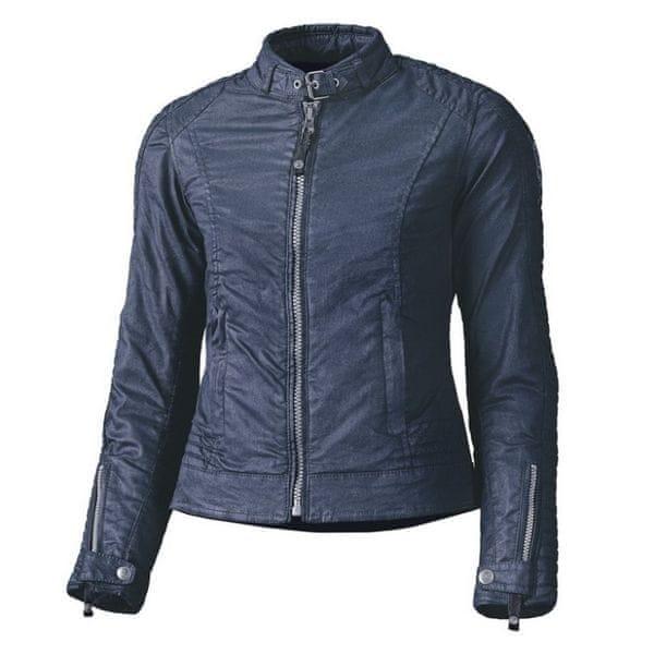 Held dámská bunda FALCON vel.L modrá, textil voskovaná bavlna (voděodolná)