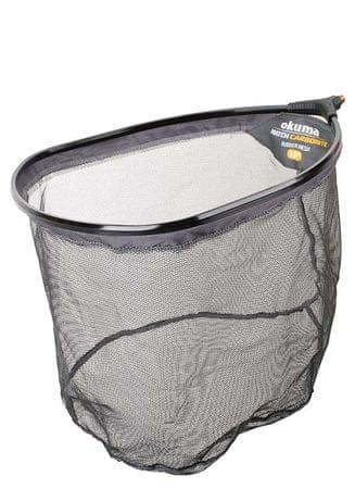 Okuma Podběráková Hlava Carbonite Net 3mm Rubber Mesh 45x35x30 cm