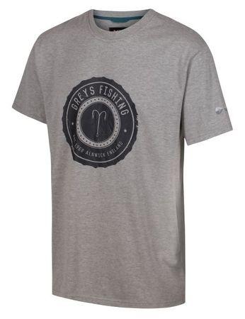 Greys Tričko Heritage T-Shirt Grey XXL