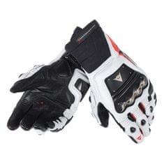 Dainese pánské rukavice na motorku  RACE PRO IN černá/fluo červená/bílá