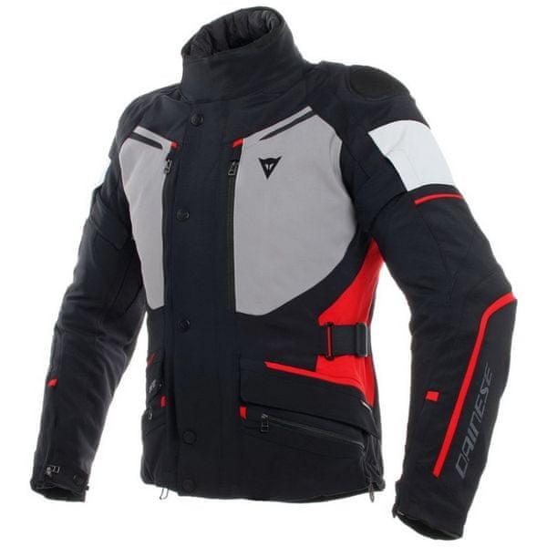 Dainese bunda CARVE MASTER 2 GORE-TEX vel.56 černá/šedá/červená