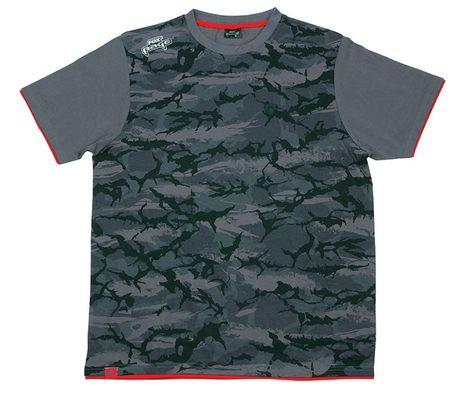 FOX RAGE Tričko Camo T Shirt XXXL