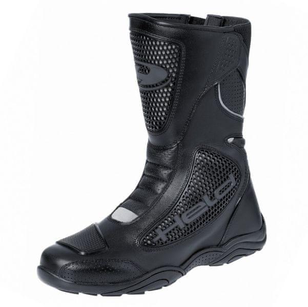 Held boty CAMERO vel.42 černé, kůže, Coolmax (pár)