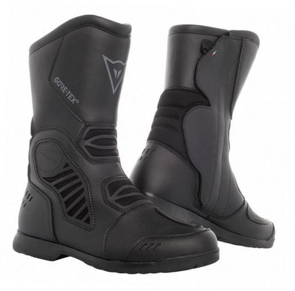 Dainese boty SOLARYS GORE-TEX vel.43 černá, kůže/textil