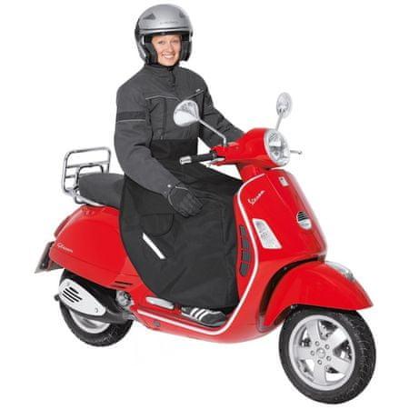 Held nepromokavá pláštěnka/deka  na scooter, černá, textil
