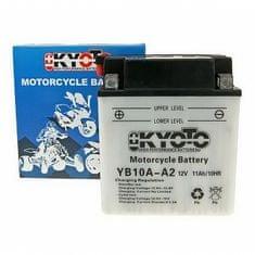 Baterie KYOTO 12V 11Ah  YB10A-A2 (dodáváno bez kyselinové náplně)