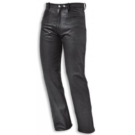 Held moto nohavice  COOPER vel.66, čierne, koža