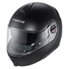 Held integrální vyklápěcí moto helma  TURISMO černá matná