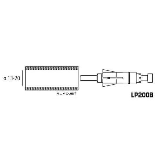 Rizoma adaptér pre proguard system ochranné páčky alebo zrkadlá, univerzálne 13-20mm
